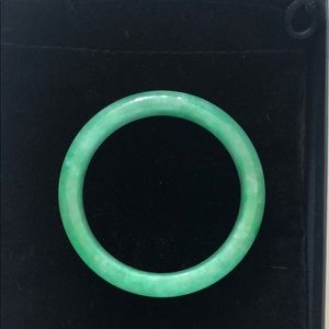 Jade Bangle, Solid Bangle